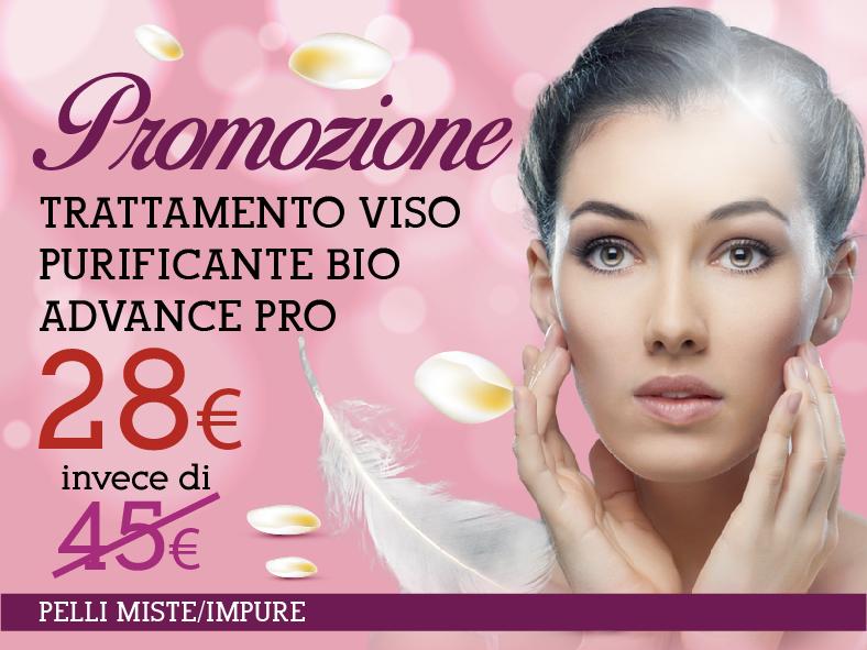 Promozione trattamento viso purificante