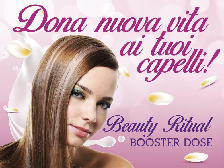 Trattamento Booster Dose per capelli spenti