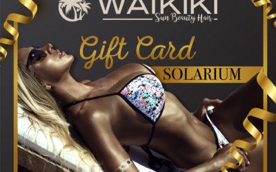 Gift card Solarium