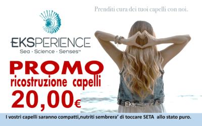 Trattamento per capelli EKSperience: provalo in promozione a 20€ da Waikiki