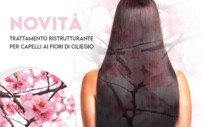 Trattamento ristrutturante ai fiori di ciliegio